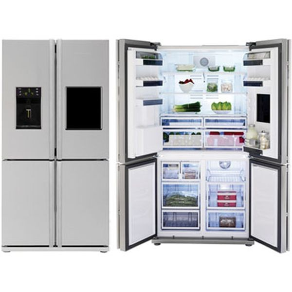 4 türiger kühlschrank
